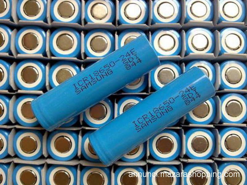 Batterie Samsung icr 18650 2400 milliampere