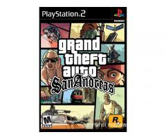 Play Station 2 con 2 Joypad e San Andreas
