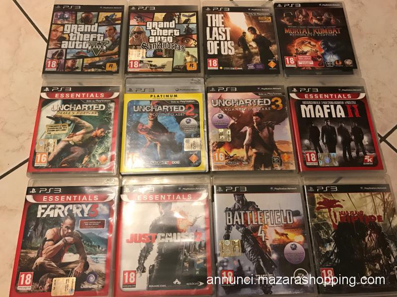 Ps3 + 27 giochi originali