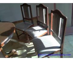 Soggiorno completo con tavolo e 6 sedie