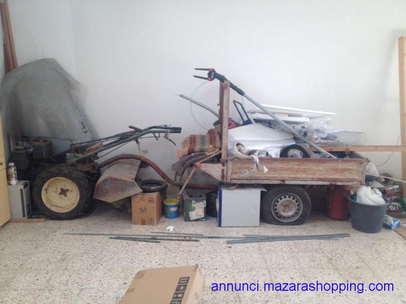 Motocoltivatore Lombardini 18cv diesel