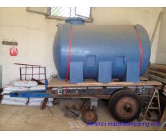 Rimorchio per trasporto acqua