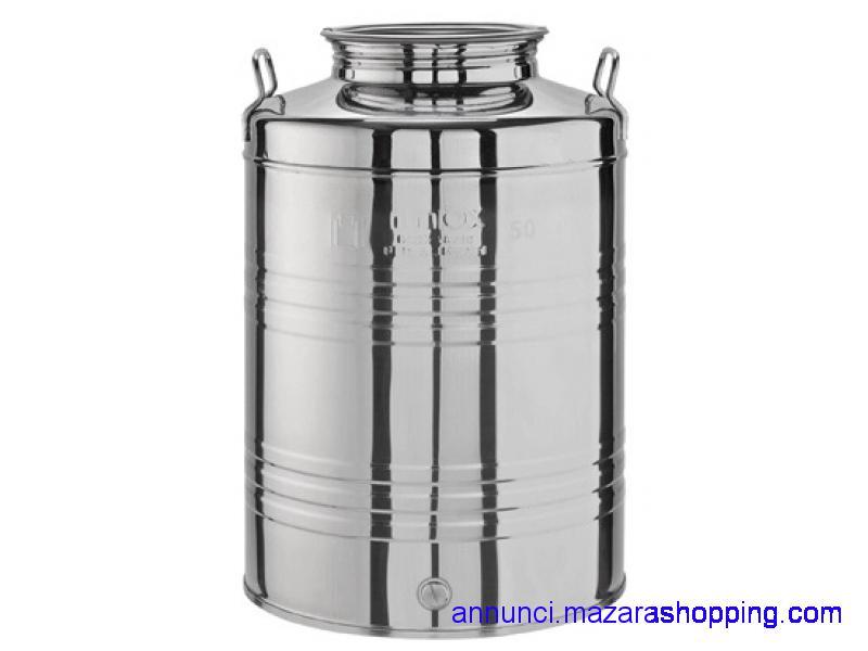 Contenitore per olio da 50 kg