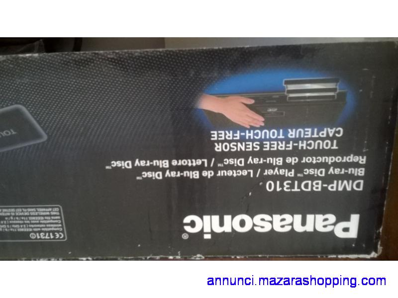 Lettore Blu-ray Panasonic bdt310 nuovo