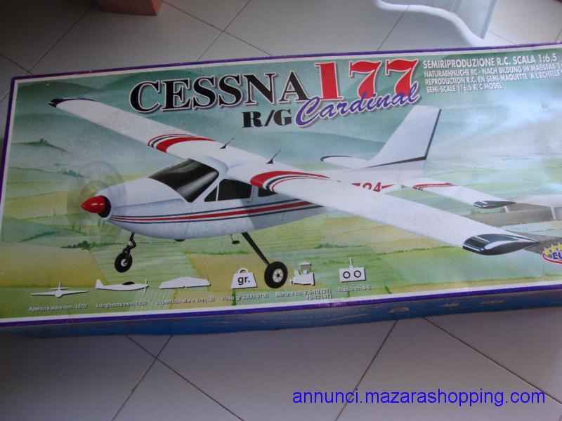 Aeromodello rc Cessna 177 Cardinal