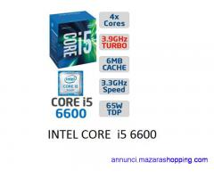 CPU INTEL CORE i5 6600 + DISSIPATORE