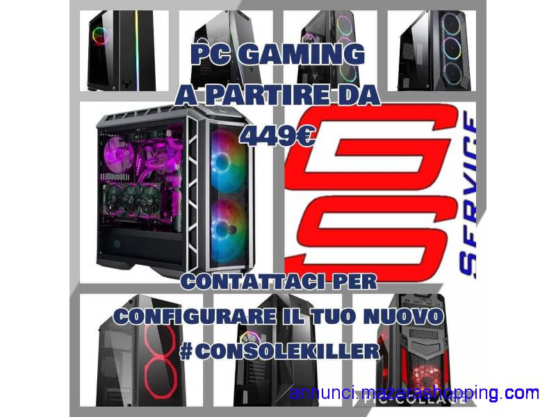 PC gaming completo ottimo per fortnite