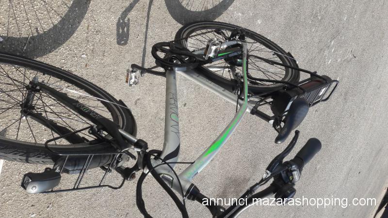 Splendida bici a pedalata assistita eletrica
