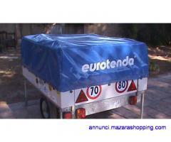 Carrello tenda eurostar 302