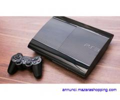 ps3 super slim compresa di giochi - scambio con ps4 e differenza
