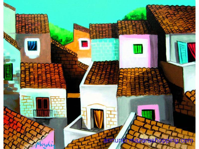 dipinto RENZO MESCHIS