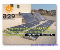 Impianto fotovoltaico da 3kW con sistema solare termico in omaggio