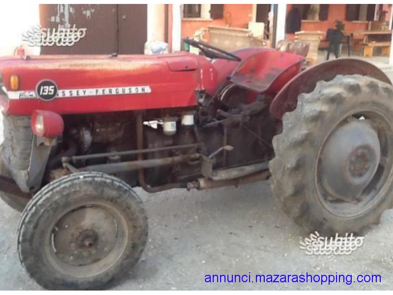 trattore  masey  fergunson 135