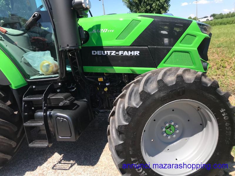 trattore  Deutz 120